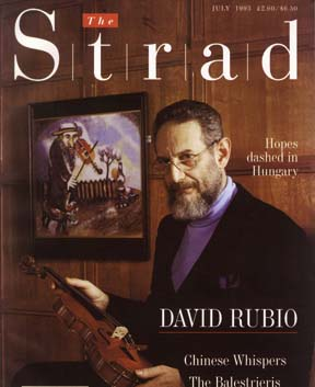 The Strad cover